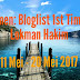 Segmen; Bloglist 1st Time By Lokman Hakim