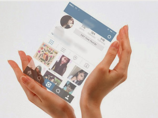Instagram In Hand
