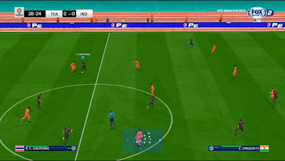 PES 2019 Scoreboard AFC Asian Cup 2019 by JAS