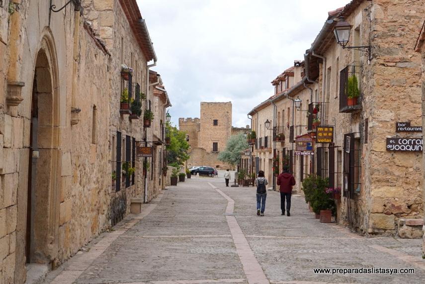 calles de pedraza