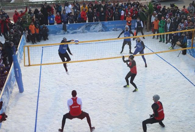 FIVB chính thức đưa bóng chuyền tuyết vào ngôi nhà chung