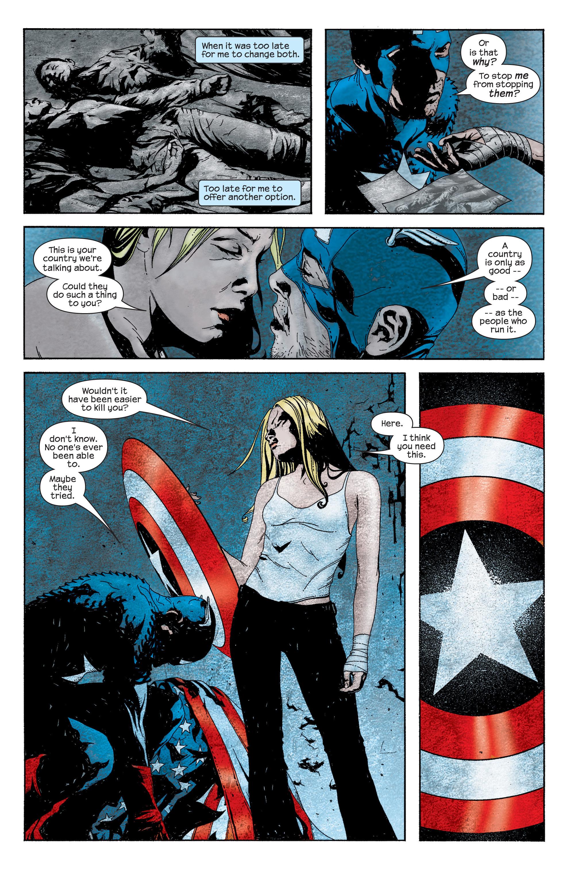 Captain America (2002) Issue #13 #14 - English 19