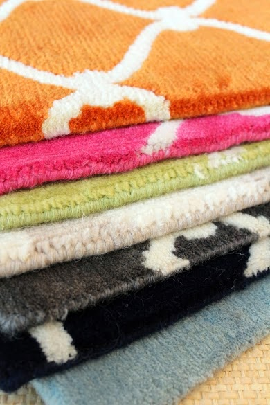 COCOCOZY rug samples