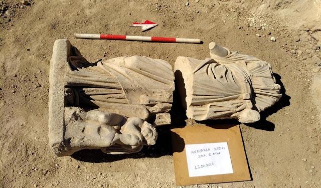 Αρχαίο Ελληνικό άγαλμα ανακαλύφθηκε στην Κιλικία- Μ.Ασία