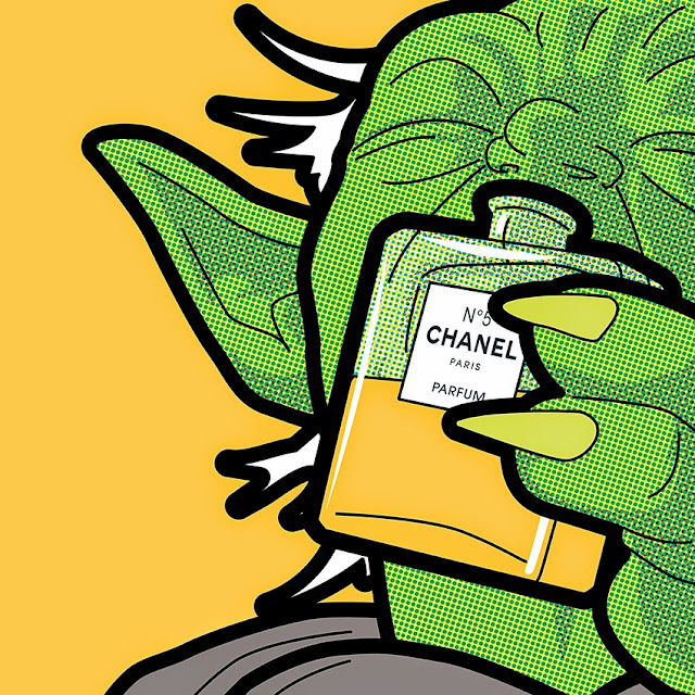 Yoda Lança Perfume