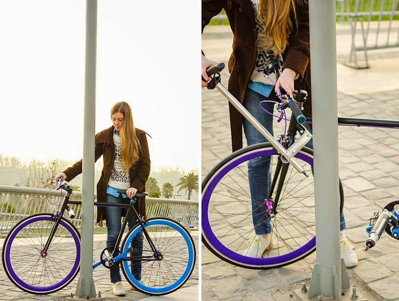 как защитить велосипед +от угона