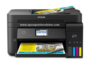 Epson WorkForce ET-4750  Driver Download For Windows and Mac OS X