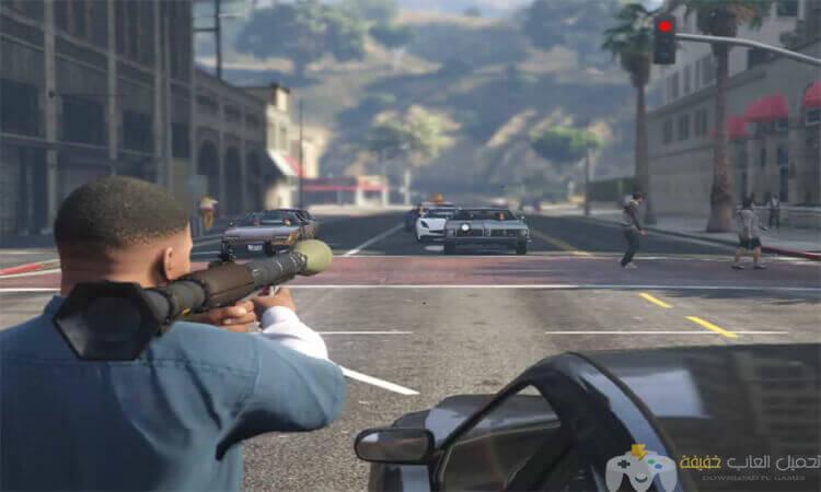 تحميل لعبة جاتا 5 GTA للكمبيوتر برابط مباشر