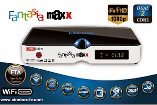 ATUALIZAÇÃO CINEBOX FANTASIA MAXX  DUAL CORE - 30/04/2016