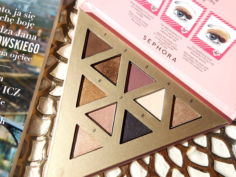 Sephora triangular eyeshadow palette