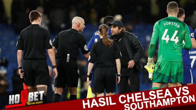Liputan Skor - Chelsea vs Southampton