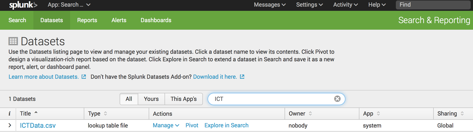 tinyINPUT: Splunk - Public Dataset Fun