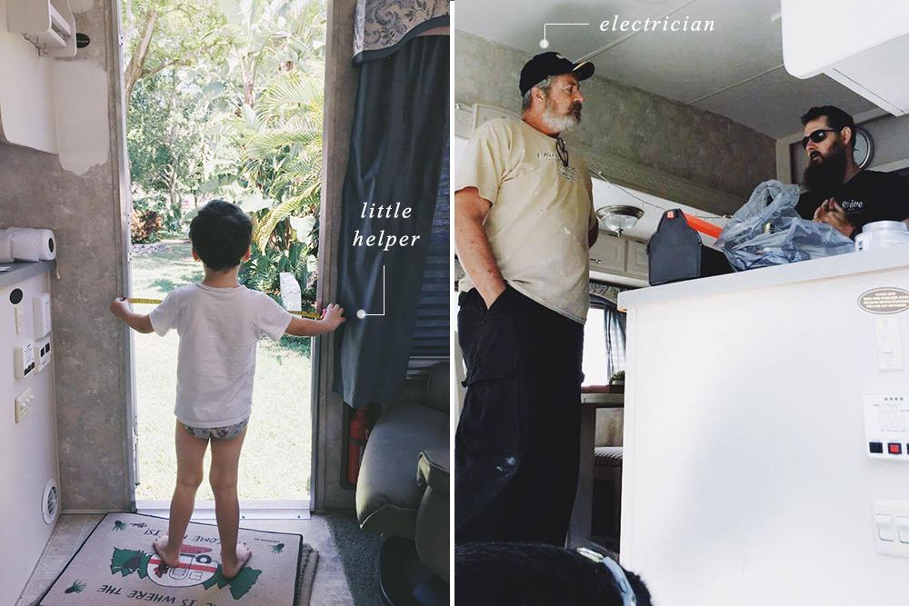 rv makeover electrical