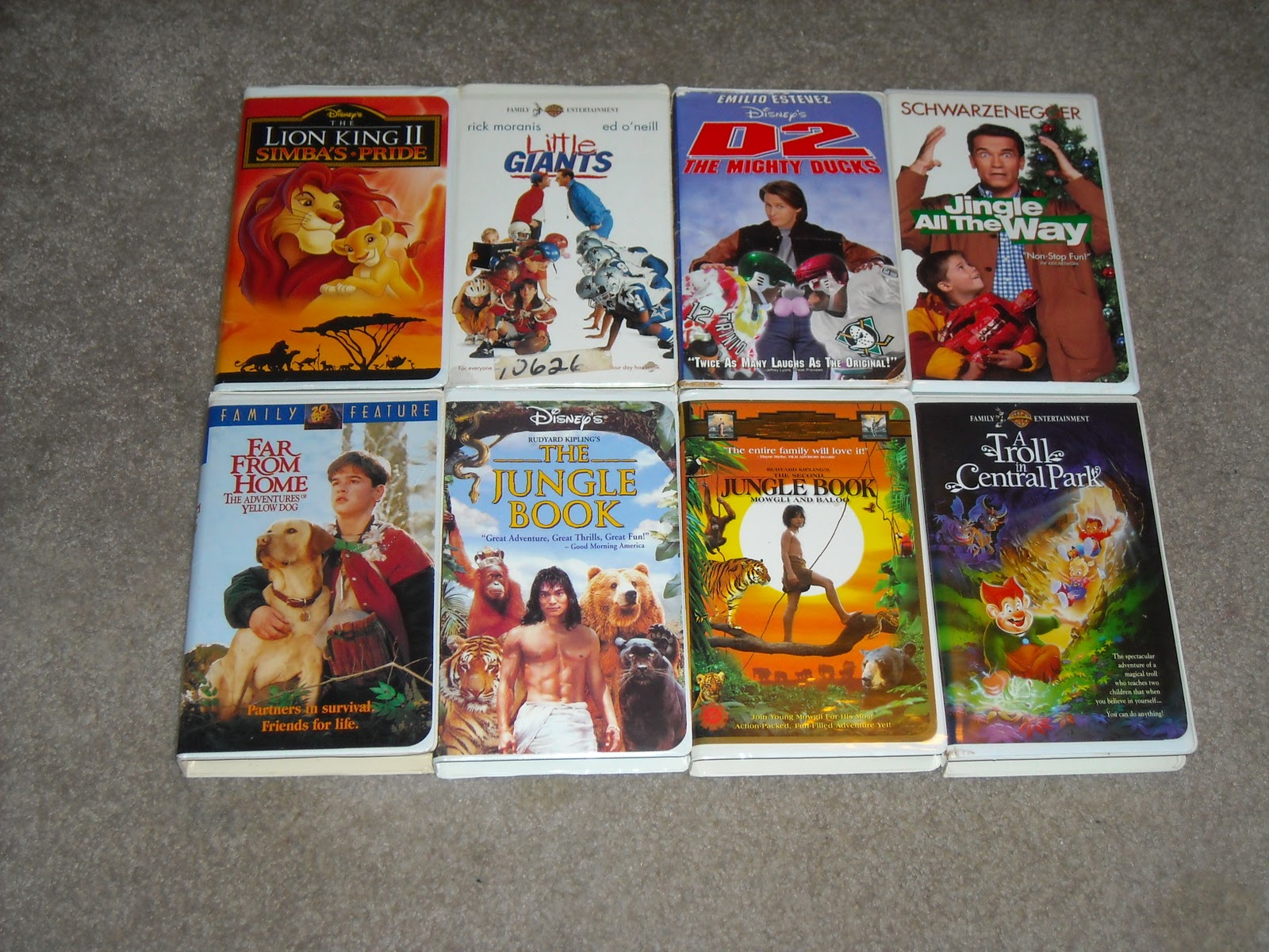 ccsanfran81 items for sale on Ebay: Lot of 8 Classic Walt ...