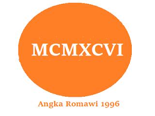 Lambang romawi dari 1996