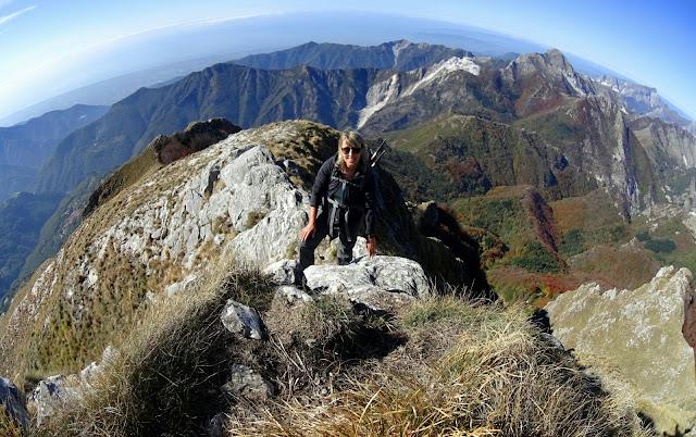 Salita al Monte Corchia