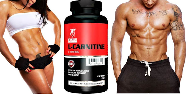 Fat burning and better physical performance with Carnitine consumption