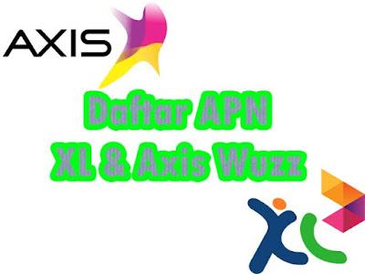Cara dan daftar Setting APN Axis dan XL di Android