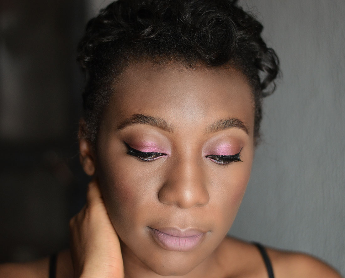 Mauve_Pink_Valentine_Makeup_ Look_Idea