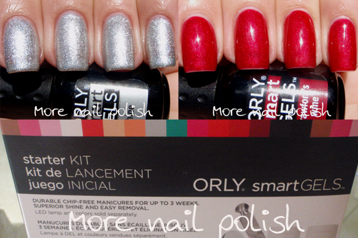 Orly smartgels + new gel colours shine & crawfords wine ~ more.