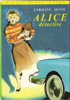 Alice Roy Détective Bibliothèque Verte Caroline Quine