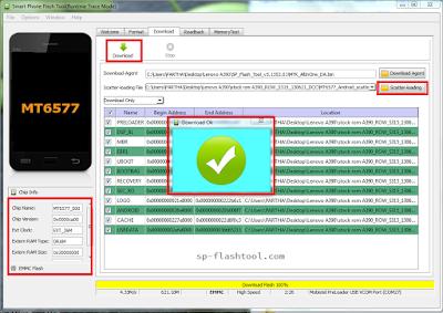 Cara Mudah Flashing Smartphone Android dengan SP Flashtool