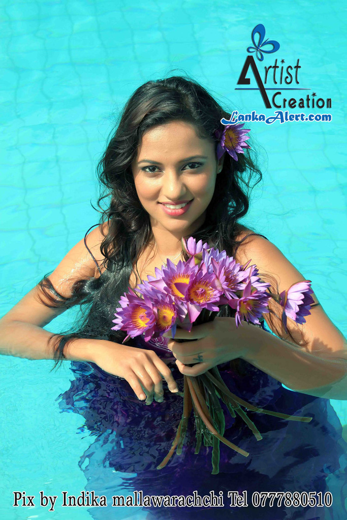 SL Hot Actress Pics: udari Underwater Photo Shoot Udari Warnakulasooriya Bikini With Underwater
