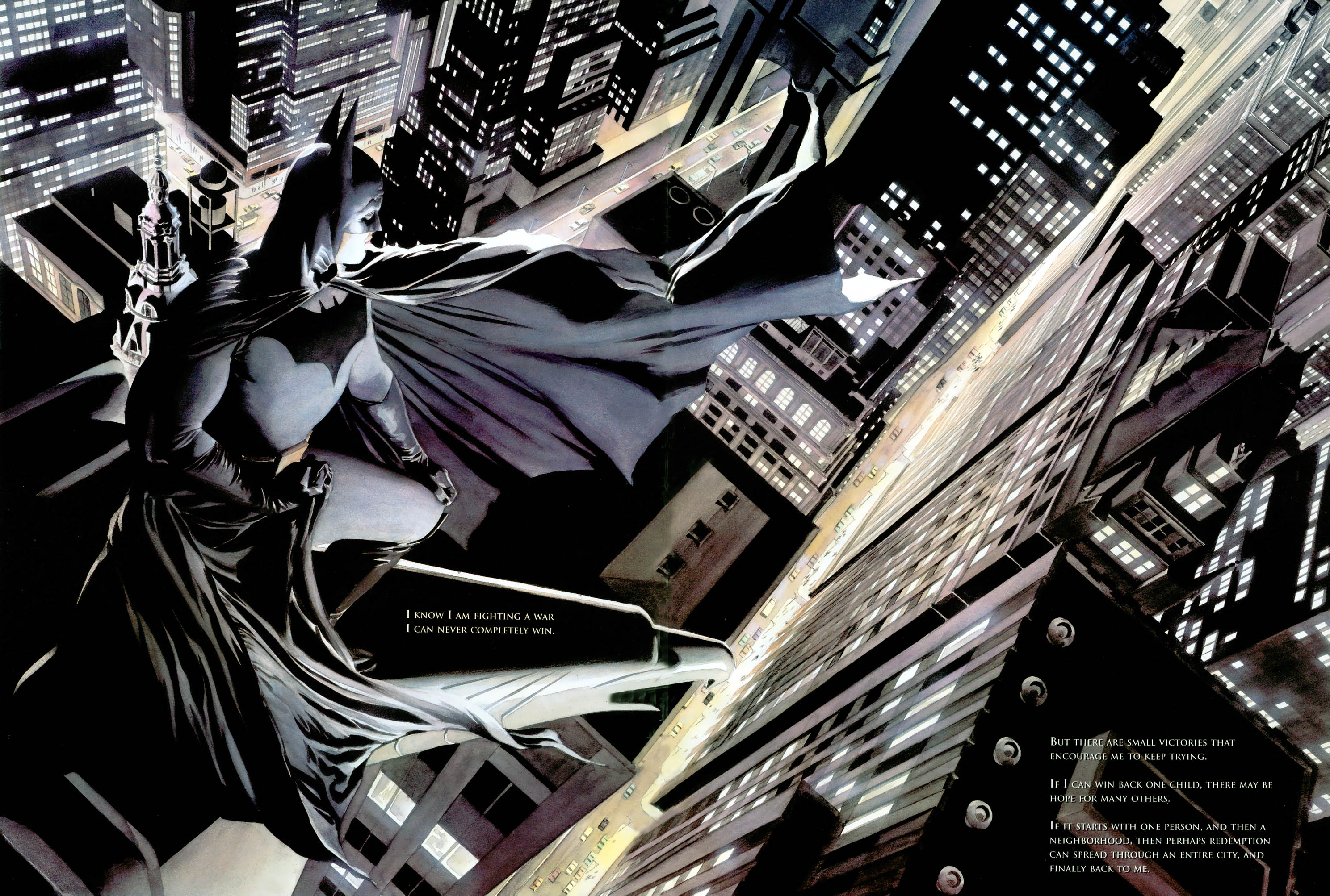 Psychology of Bruce Wayne RCO090