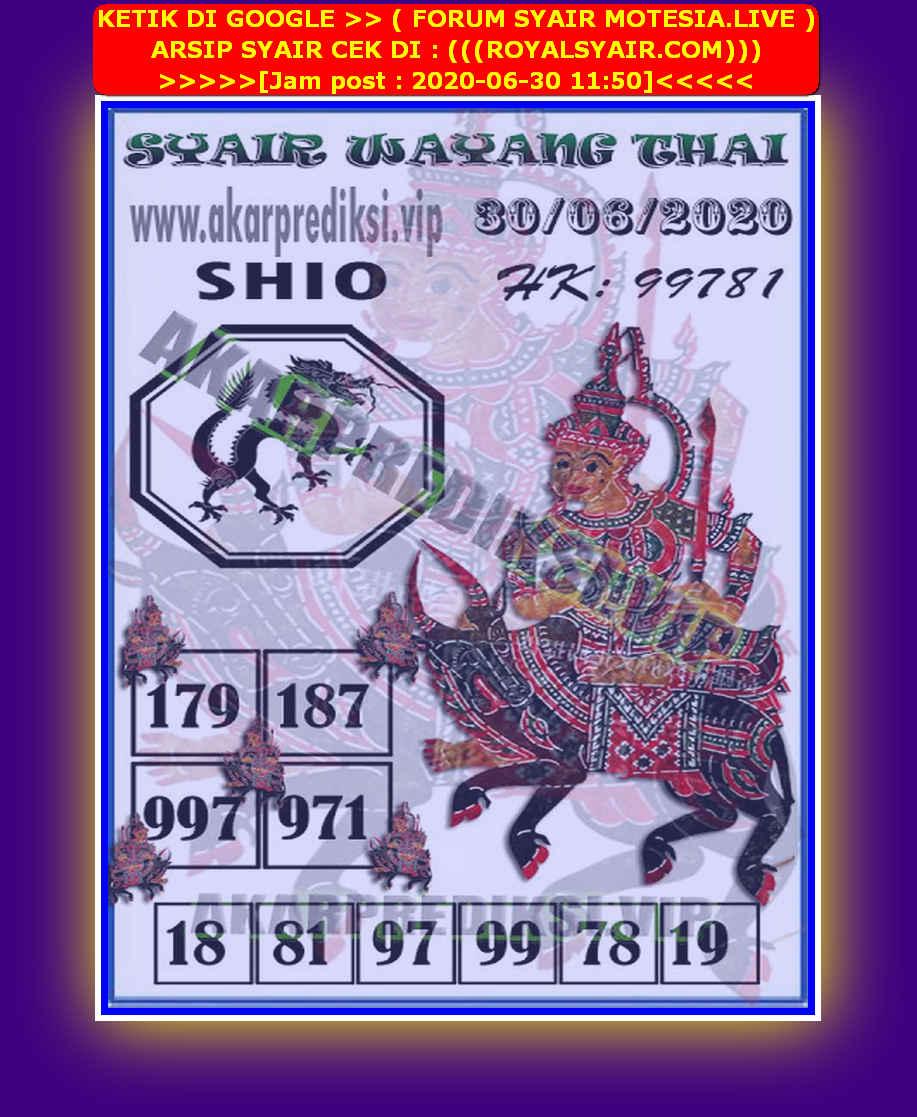 Kode syair Hongkong Selasa 30 Juni 2020 254