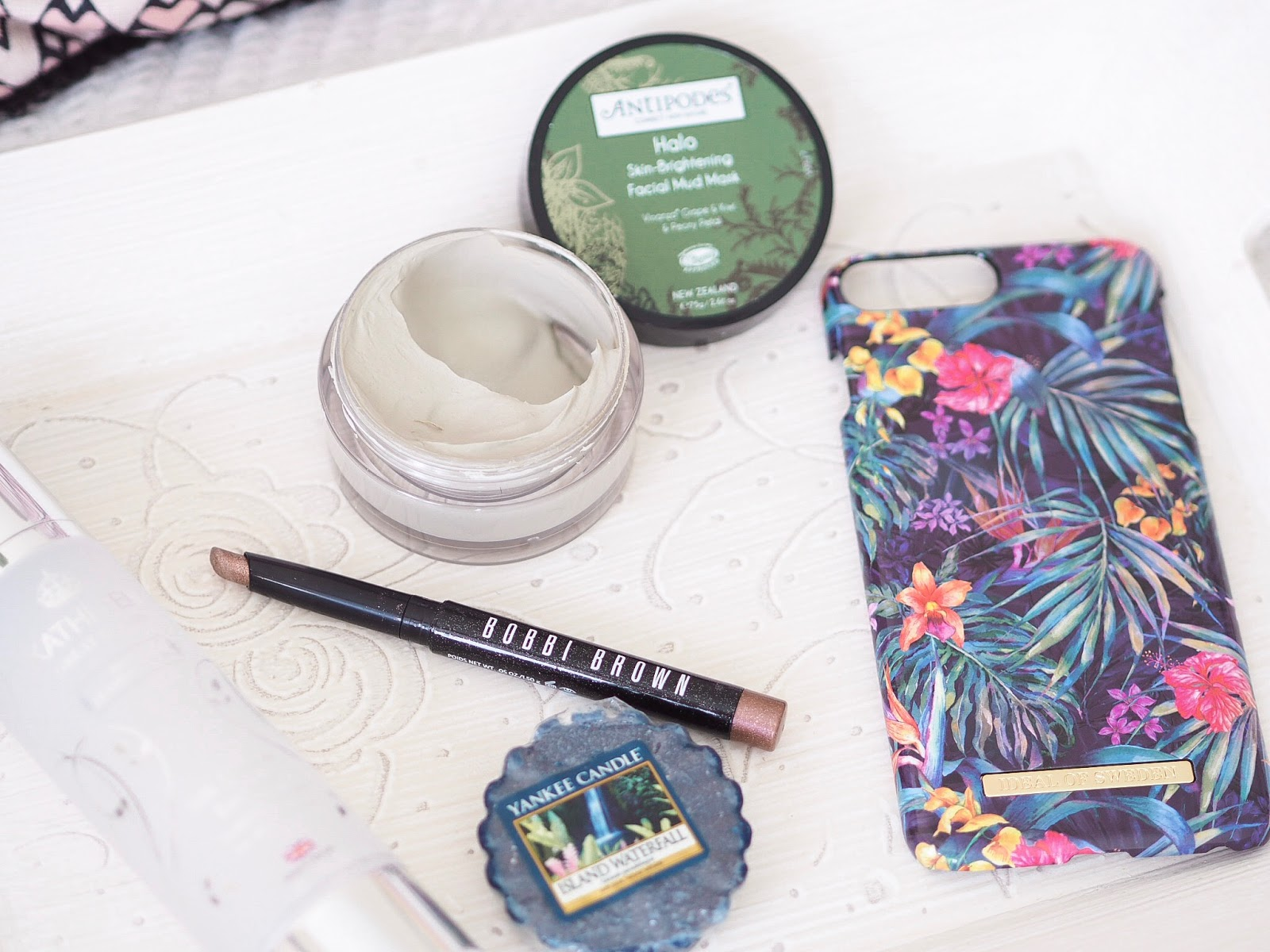 Loves List: June, Katie Kirk Loves, UK Blogger, Beauty Blogger, Yankee Candle, Antipodes, Bobbi Brown, Discount, Skincare Blogger, Make Up Blogger, Ideal of Sweden, Discount Code, Kathleen Skincare, Topshop Straw Bag, Bali Bag