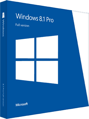 Windows 8.1 Pro Box Imagen