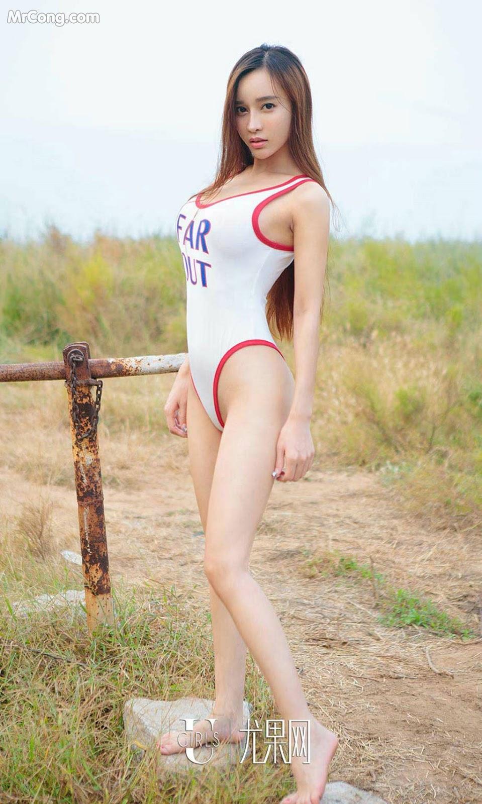 Image UGIRLS-Ai-You-Wu-App-No.857-Ai-Xiao-Qing-MrCong.com-007 in post UGIRLS – Ai You Wu App No.857: Người mẫu Ai Xiao Qing (艾小青) (40 ảnh)