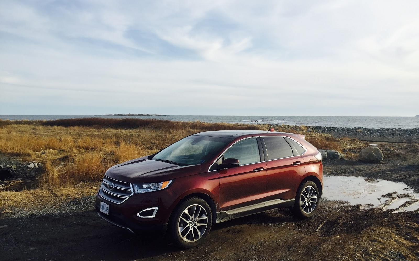 Ford Edge Titanium Awd V Bronze Fire