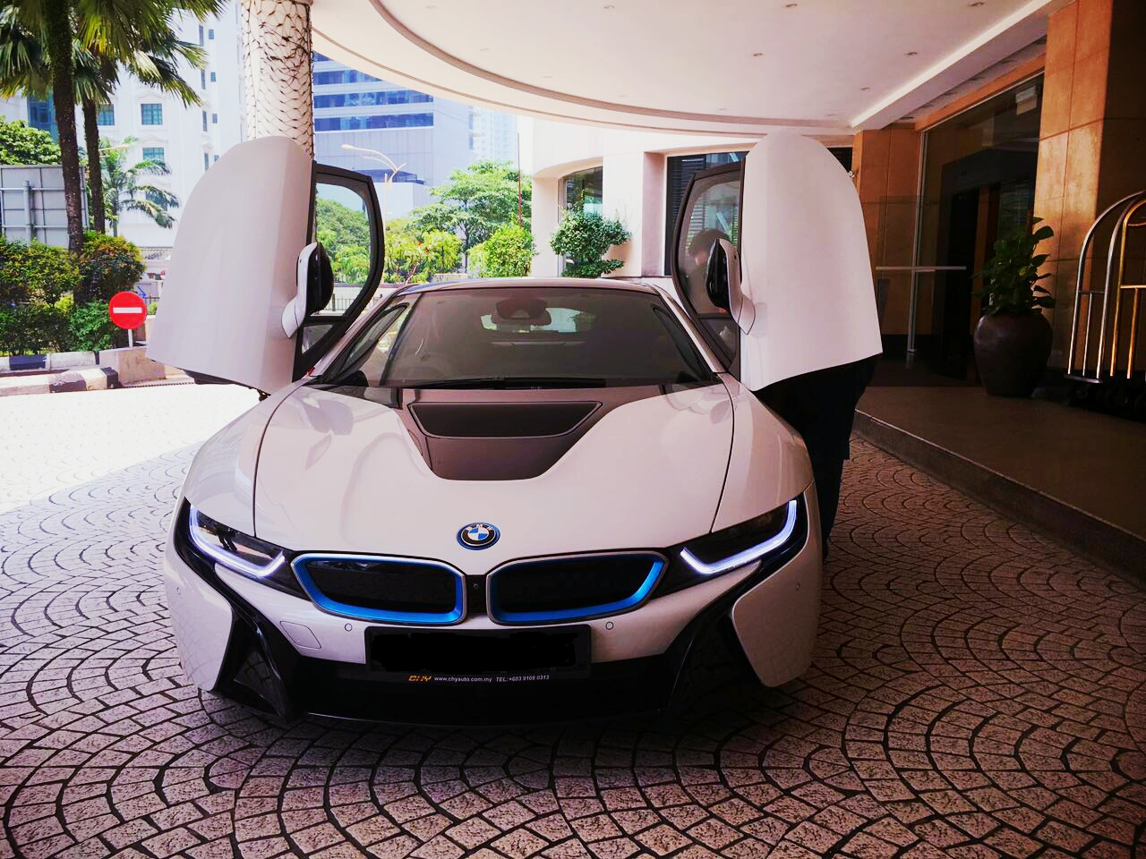 Redorca Malaysia Wedding And Event Car Rental Bmw I8 Sports Car