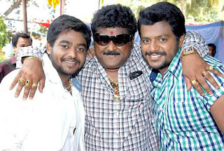 Jaggesh with children