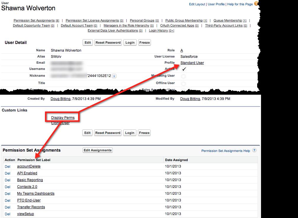 Salesforce Hacker: Visualizing User's Permissions Across Profiles