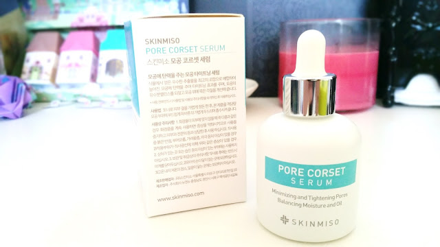 Pore Corset Serum packaging