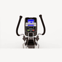 Nautilus E616 2014 console, with Dual Track blue backlit LCD display, Bluetooth