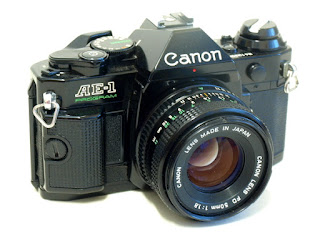 Canon AE-1 Program, Top Front