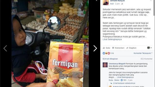 Viral di Facebook, Postingan Pria ini Tentang Pengalaman Belanja di Pasar Bikin Ngakak