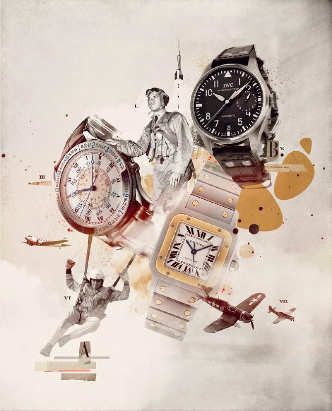 Damien Vignaux - Graphic Design - Watches