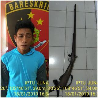 Miliki Senpira, Karyawan PT Pinago Diciduk Polisi