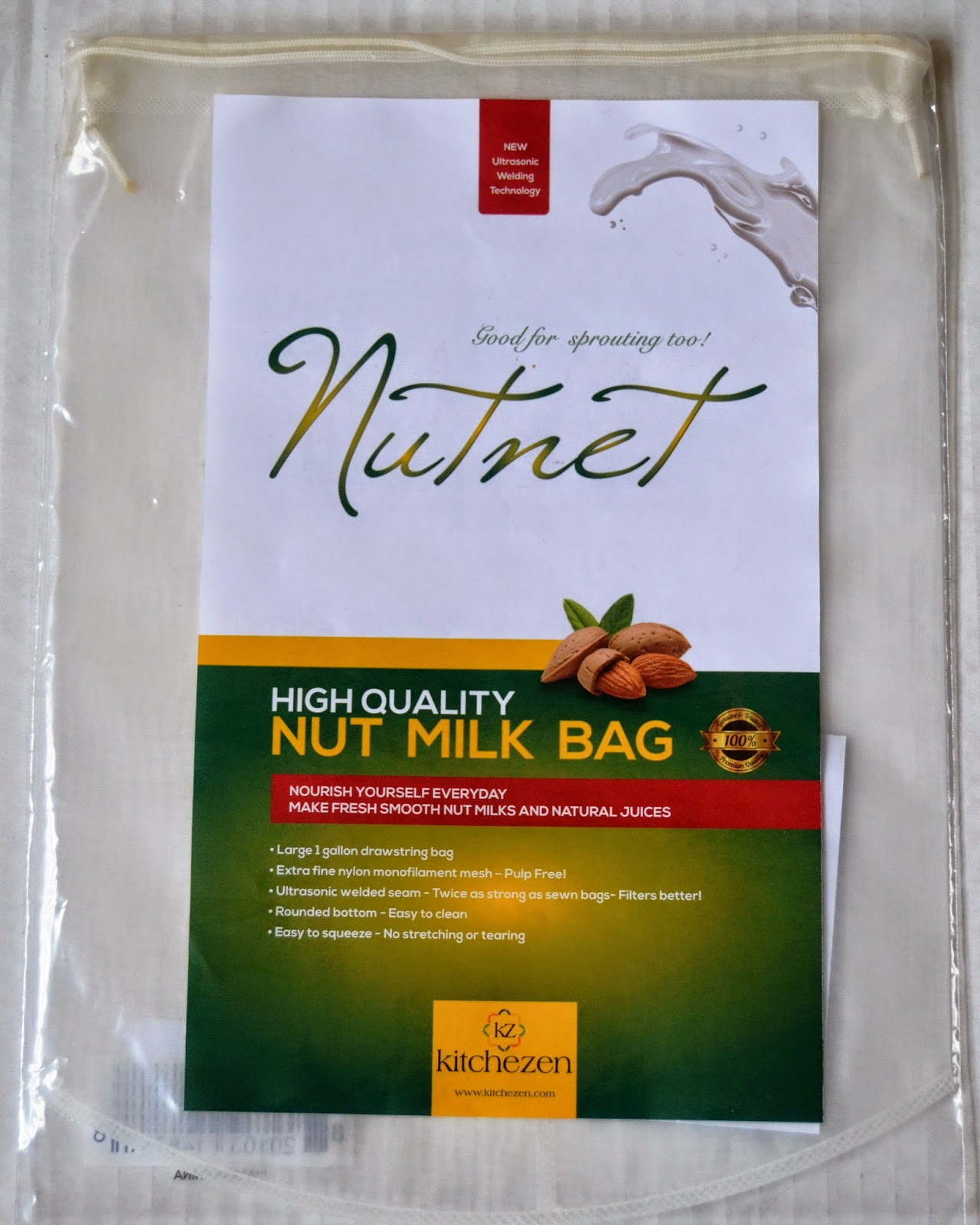 Kitchezen Nut Milk Bag