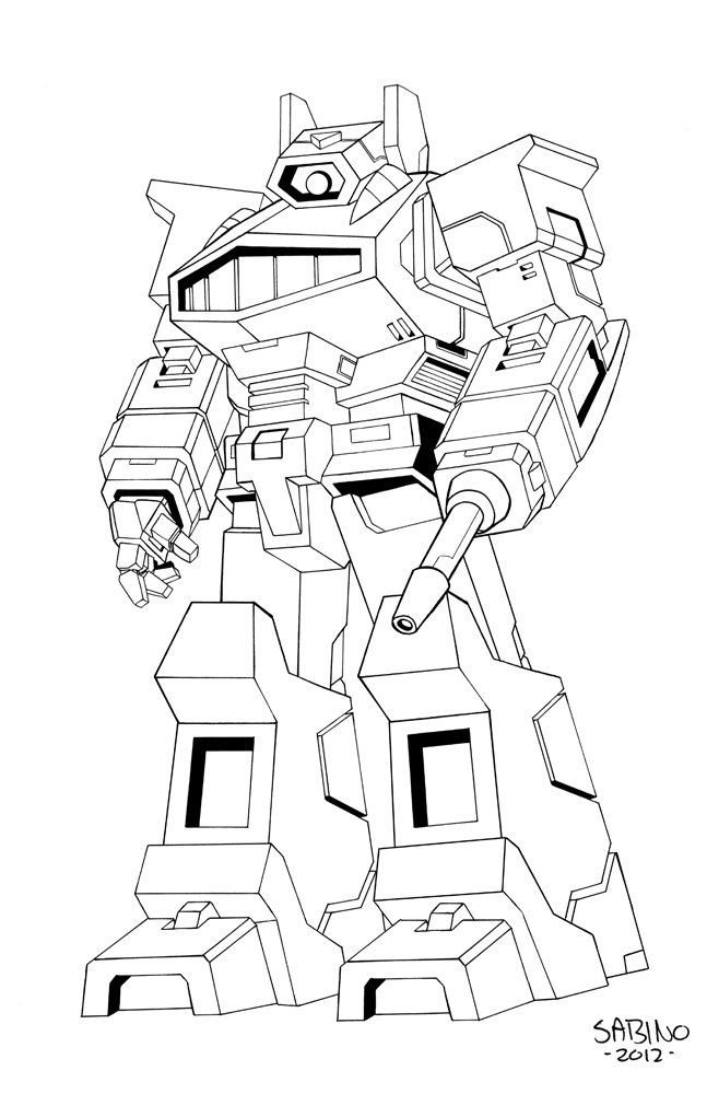 transformers 3 shockwave coloring pages | Transformers G1 Shockwave Coloring Page Sketch Coloring Page