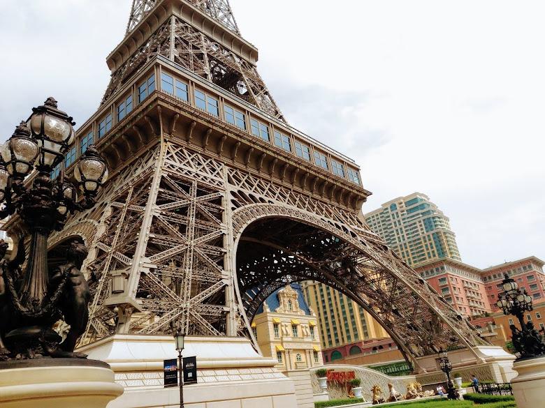 巴黎人酒店的大地標