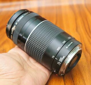 Jual Lensa 75-300mm III untuk Canon