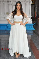 Telugu Actress Amyra Dastur Stills in White Skirt and Blouse at Anandi Indira Production LLP Production no 1 Opening  0079.JPG
