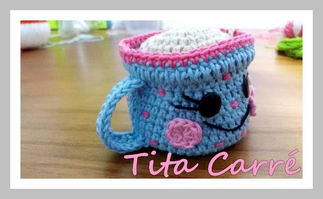 Xícara de Chá em crochet