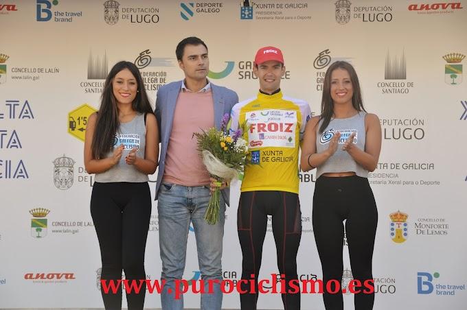 Entrevistamos a Martín Lestido - 2ª etapa de la Volta a Galicia