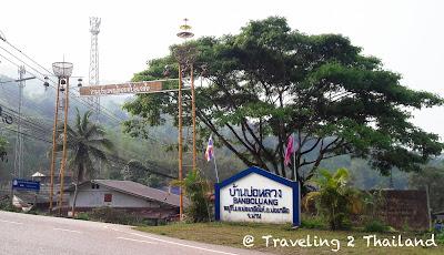 The village of Bo Klua in Nan - Thailand